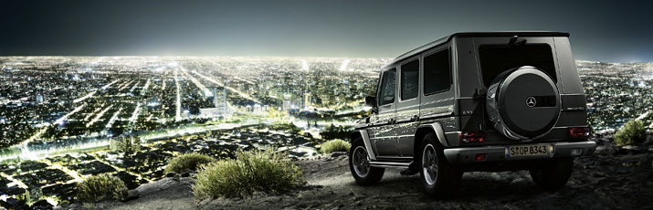 G-Class Cross Country Vehicle Drive System & Chasis G 55 AMG